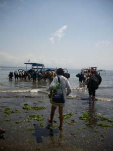 Trip Surf Indonésie - Sanur - Bateau à balanciers