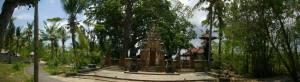 Temple à Nusa Lembogan