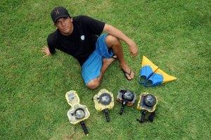 Clark Little, surf photographe de l'extrême